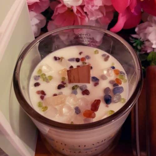 Essential Oil & Gemstone Candles