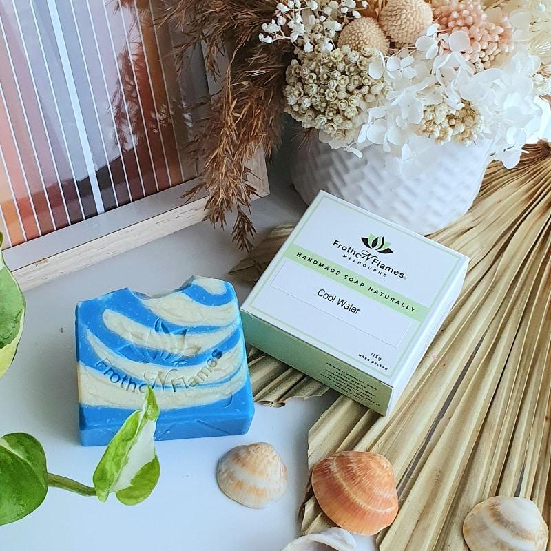 cool water handmade soap