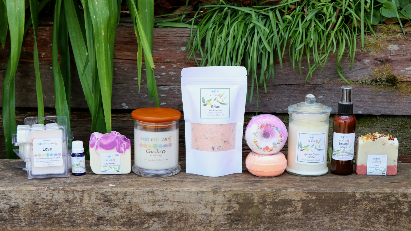 Handmade Soap, Soy Candles