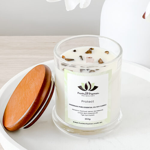protect essential oil candle
