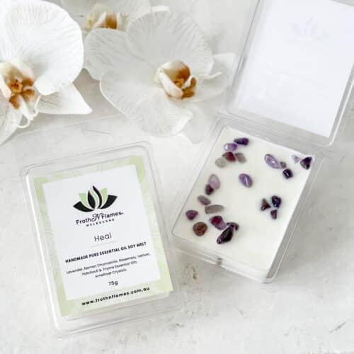 Heal essential oil soy melt