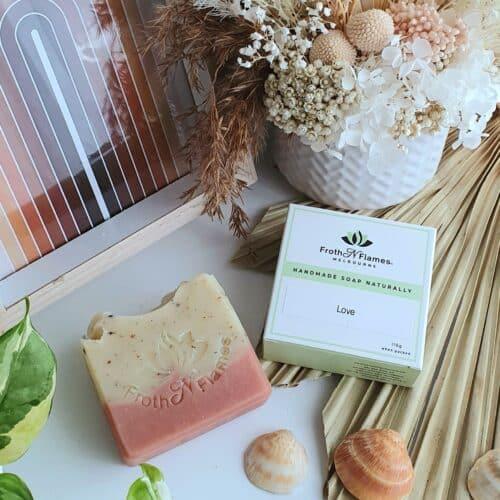 handmade soap Love