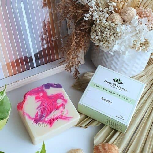 beautiful handmade soap