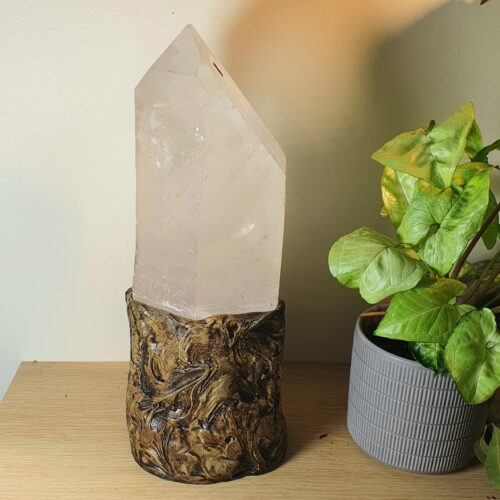 clear quartz lamp