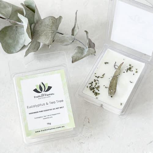 Eucalyptus & Tea Tree Essential Oil Soy Melt