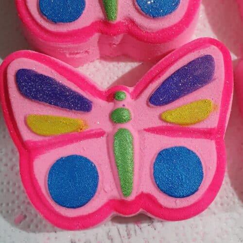 bath bomb butterfly