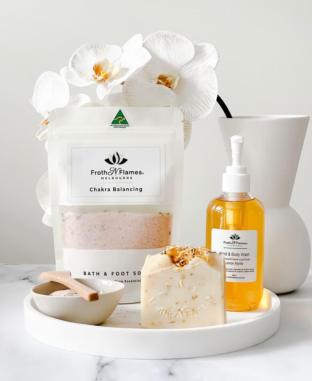 Handmade bath products