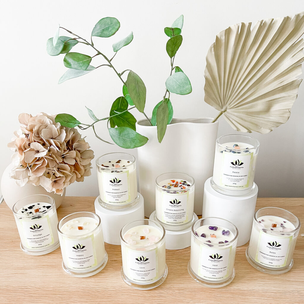 Essential Oil Candle Set